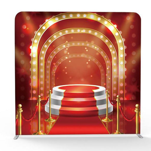 Hot Sale Red Carpet Event Print Pillow Backdrop with Frame Stand