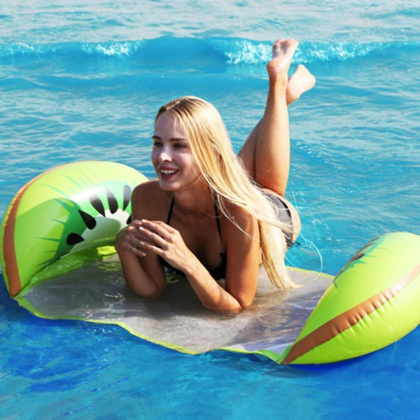 Inflatable Floating Hammock for Pool or Beach - The Free Wild Soul