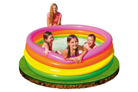 Children's Inflatable Pool 168 x 46 cm - The Free Wild Soul