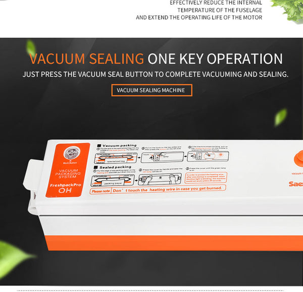 Professional machine Vacuum packaging + 15 free bags - The Free Wild Soul