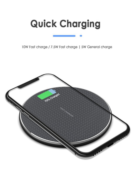 Wireless Charger 10W fast charge - The Free Wild Soul