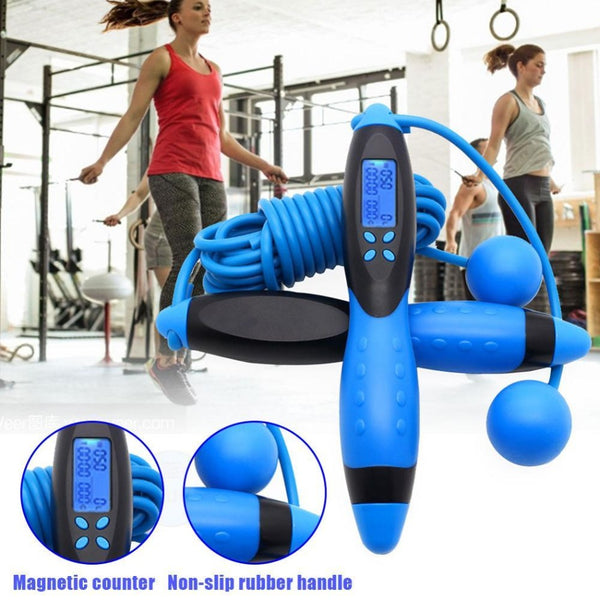 Smart Jump Rope Weight, Time, Counter and Calories - The Free Wild Soul
