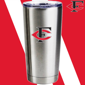 Forsyth Central Custom Laser Engraved Stainless Steel Tumbler