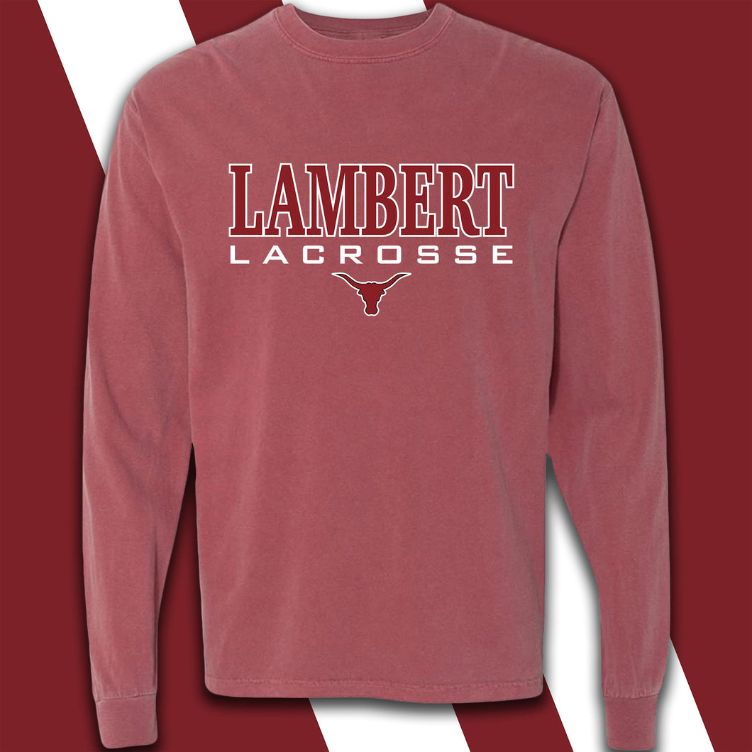 Lambert Ladies Lacrosse Comfort Colors Long Sleeve