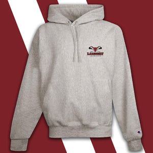 Lambert LaCrosse Embroidered-logo Champion Crew Sweatshirt