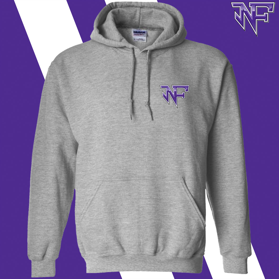 North Forsyth Screenprint Gildan Hoodie Sweatshirt