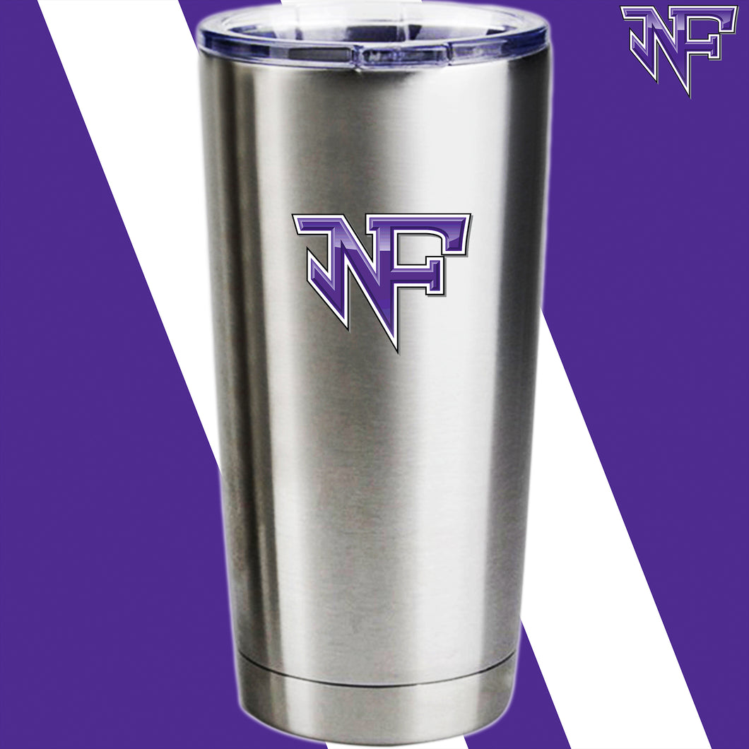 North Forsyth Custom Laser Engraved Stainless Steel Tumbler