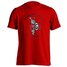 Load image into Gallery viewer, Georgia Redcoat Band Logo Unisex Short Sleeve T-Shirt