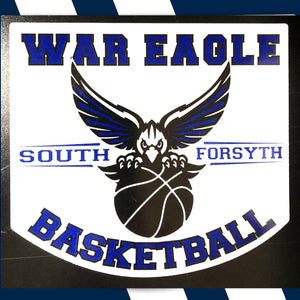 """South Basketball"" Logo Magnet"