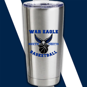 """South Basketball"" Custom Screenprint Tumbler"