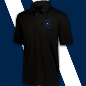 """War Eagle Basketball"" Embroidery-logo Man Polo shirt Moisture Wicking"