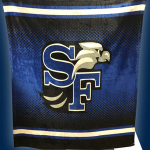 SF Lacrosse Sublimated Blanket
