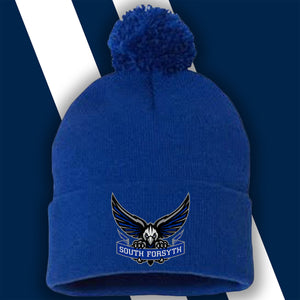 SF Lacrosse War Eagle Beanie