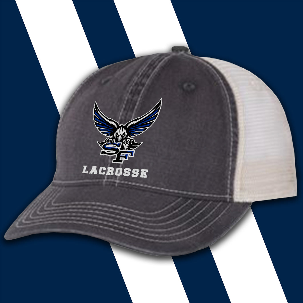 SF Lacrosse Embroidered Comfort-Color Trucker Hat