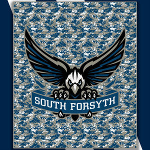 South Forsyth Sublimated Micro-fleece Blanket