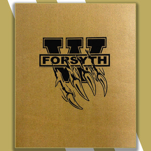 West Forsyth High Sublimated Micro-fleece Blanket