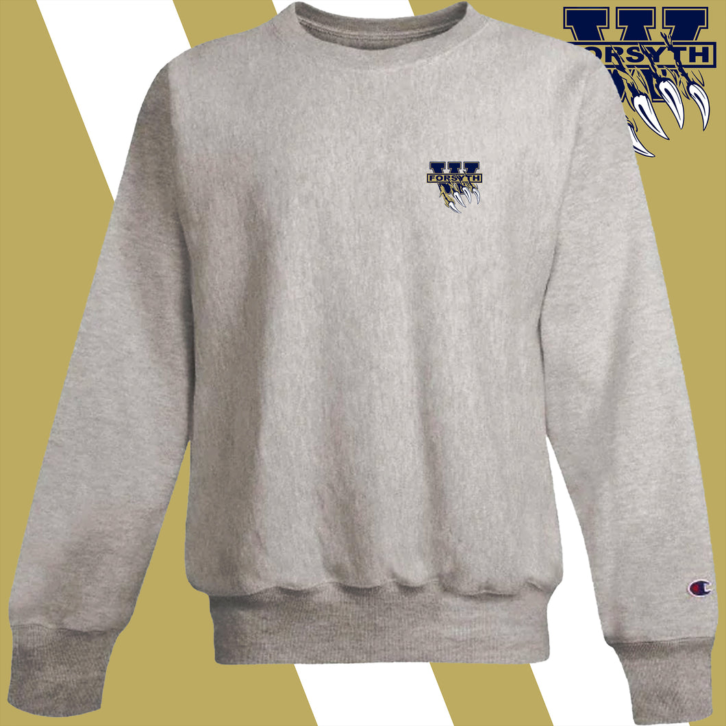 West Forsyth embroidery-logo Champion Crew Sweatshirt