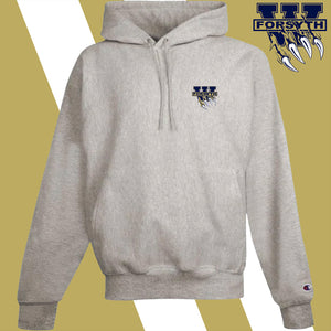 West Forsyth embroidery-logo Champion Hoodie Sweatshirt