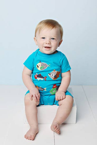 School Of Fish Romper