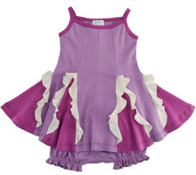 Load image into Gallery viewer, Baby Easy Twirl Dress-Purple