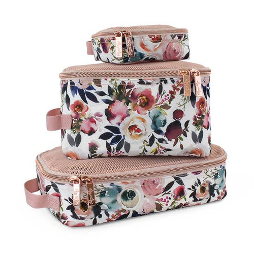 Blush Floral Packing Cubes