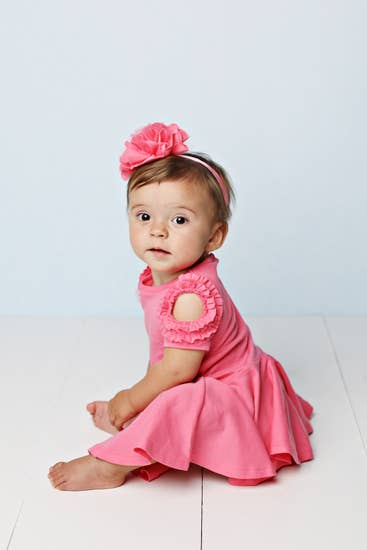 Baby Blossom Bliss Dress-Pink