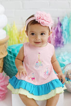 Load image into Gallery viewer, Baby Biking Friends Dress Set