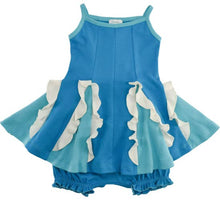Load image into Gallery viewer, Baby Easy Twirl Dress-Blue