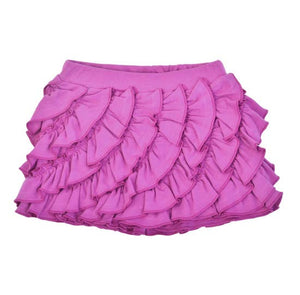 Ruffle Skort-Purple