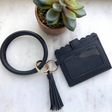 Load image into Gallery viewer, Cardholder with Keyring Bangle