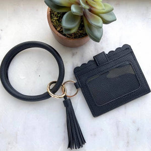 Cardholder with Keyring Bangle