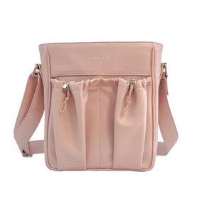 Anjie + Ash Crossbody Parent Bag-Blush