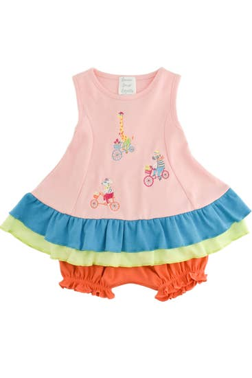 Baby Biking Friends Dress Set