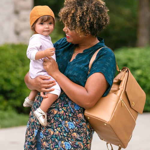 Freshly Picked Classic Diaper Bag-Butterscotch