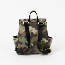 Load image into Gallery viewer, Freshly Picked Mini Classic Diaper Bag-Camo