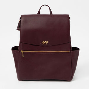 Freshly Picked Classic Diaper Bag-Merlot