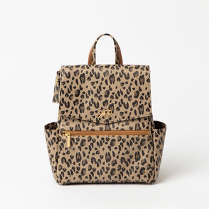 Freshly Picked Mini Classic Diaper Bag-Leopard