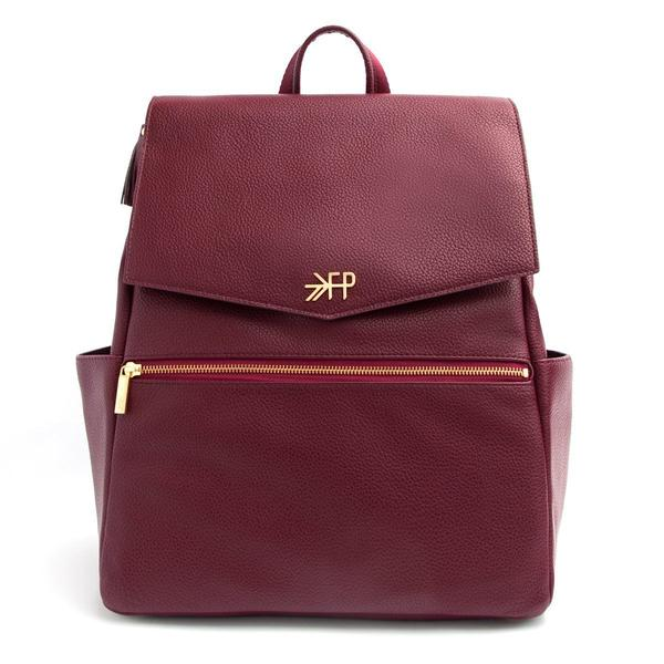 Freshly Picked Mini Classic Diaper Bag-Merlot