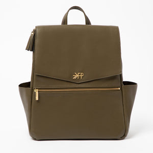Freshly Picked Classic Diaper Bag-Olive