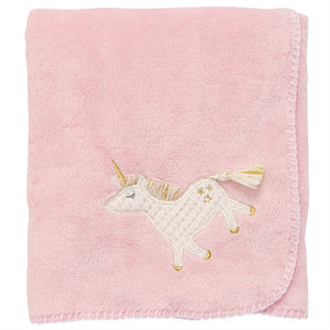 Mudpie Unicorn Fleece Blanket