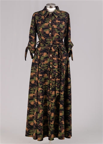 Warrior Camo Dress