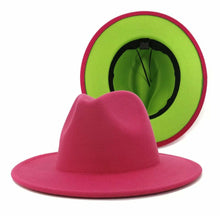 Load image into Gallery viewer, Two -Toned Fedora | Hat