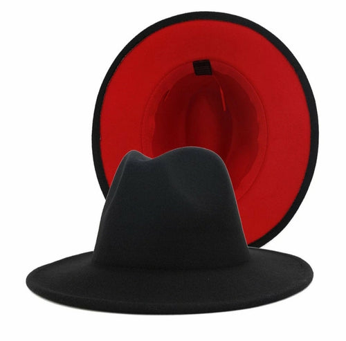 Two -Toned Fedora | Hat