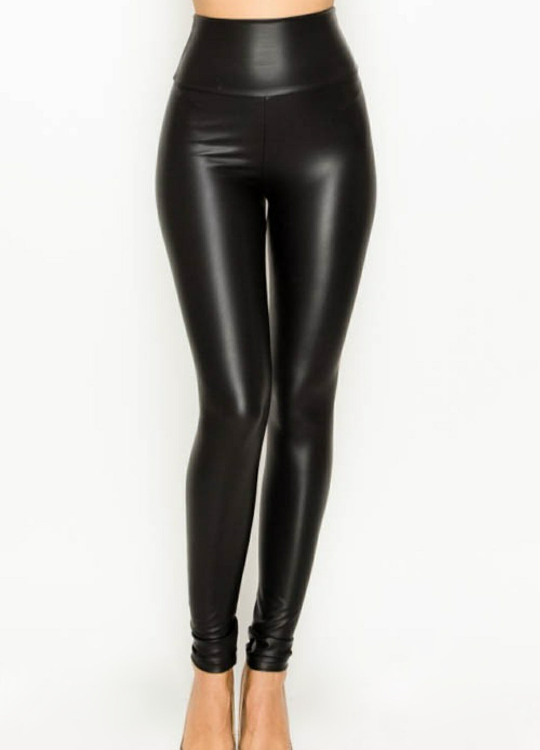 Faux Leather |  Leggings