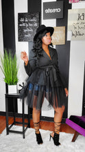 Load image into Gallery viewer, Half & Half Tulle Jacket