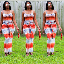 Load image into Gallery viewer, Stacy Tie Dye Maxi