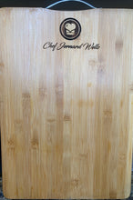 Load image into Gallery viewer, Chef Jernard Custom Engraved Chopping board with handle
