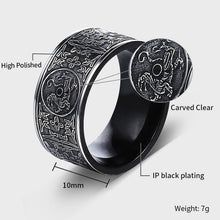 Load image into Gallery viewer, Dragon Ring Stainless Steel