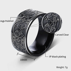 Dragon Ring Stainless Steel