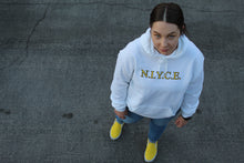 Load image into Gallery viewer, N.I.Y.C.E Hoodie - White
